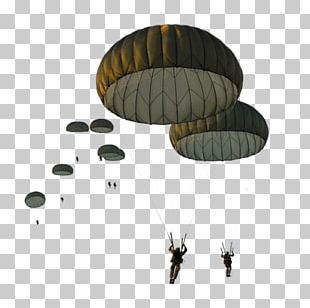 Parachute Paratrooper United States Army Airborne School Military Parachuting PNG