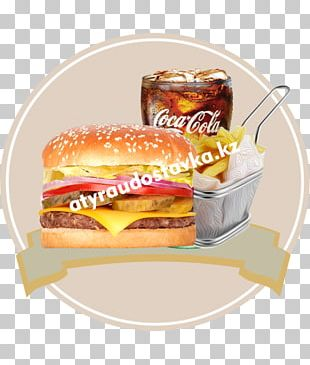 Breakfast Sandwich Cheeseburger Fast Food Whopper Hamburger PNG