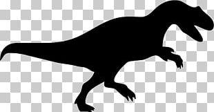 Tyrannosaurus Albertosaurus Dinosaur Silhouette PNG