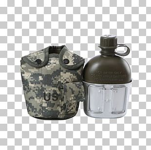 Water Bottle Canteen Military Kettle PNG