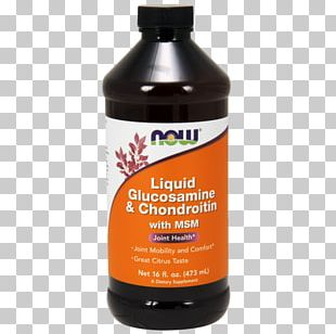Dietary Supplement Now Foods Liquid Glucosamine & Chondroitin With Msm Clinical Trials On Glucosamine And Chondroitin Chondroitin Sulfate PNG