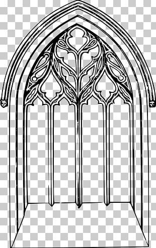 Rose Window Stained Glass Church Window PNG