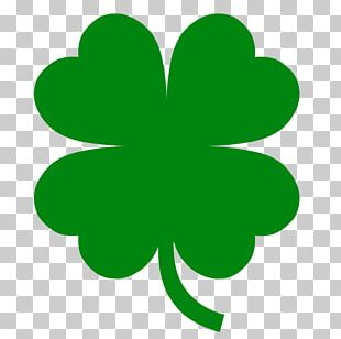 Four-leaf Clover Luck PNG