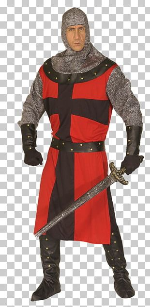 Middle Ages Costume Party Knight Dress PNG