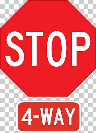 All-way Stop Stop Sign Traffic Sign Signage PNG