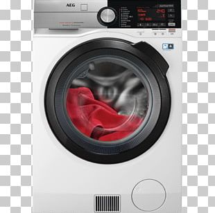 Washing Machines Clothes Dryer AEG Combo Washer Dryer Major Appliance PNG