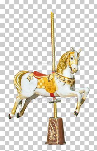 Horse Carousel Amusement Park Pony PNG
