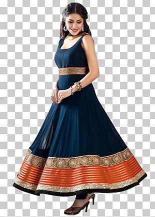 Anarkali Salwar Suit Dress Shalwar Kameez Georgette PNG