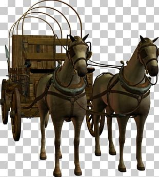 Horse-drawn Vehicle Chariot Mule Carriage PNG