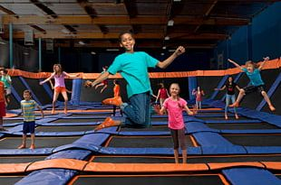 Sky Zone Trampoline Park Coupon 100B PNG