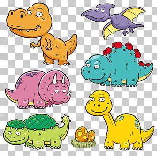 Apatosaurus Dinosaur Cartoon PNG