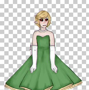 Gown Costume Design Cartoon PNG