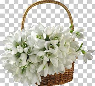 Basket Flower Bouquet Desktop PNG
