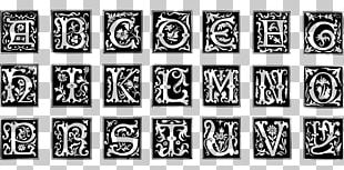 Decorative Letters The Signist's Book Of Modern Alphabets: Plain And Ornamental PNG