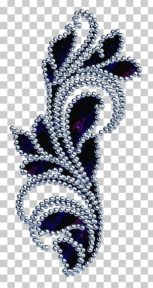 Embroidery Floral Design Ornament PNG