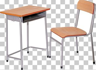 Table Furniture Chair Desk School PNG