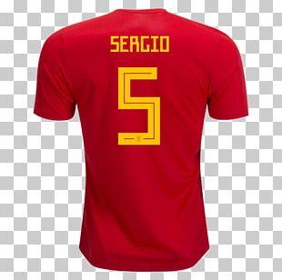 2018 FIFA World Cup Spain National Football Team T-shirt Segunda División España En La Clasificación Para El Mundial De Rusia 2018 PNG
