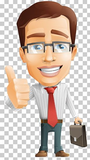 Cartoon Character Businessperson PNG
