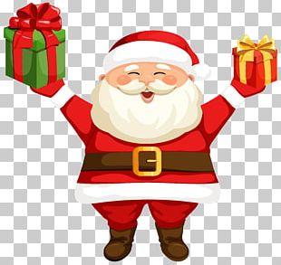 Santa Claus Rudolph PNG