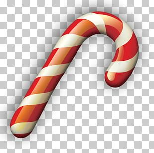 Candy Cane Polkagris Christmas PNG
