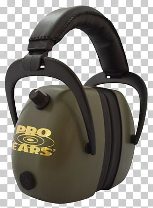 Earmuffs Firearm Sound Gehoorbescherming PNG