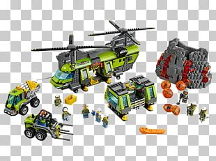 LEGO 60125 City Volcano Heavy-lift Helicopter Lego City Toy PNG
