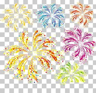 Fireworks New Years Eve Illustration PNG