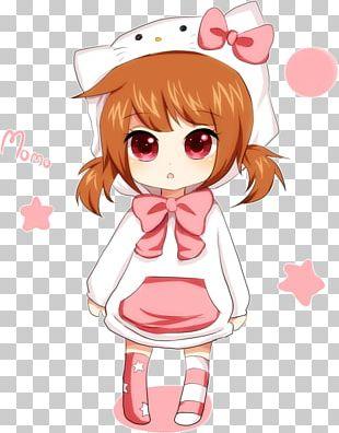 Chibi Mangaka Anime Drawing PNG