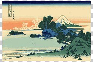 The Great Wave Off Kanagawa Printmaking Thirty-six Views Of Mount Fuji Painting Japanese Art PNG