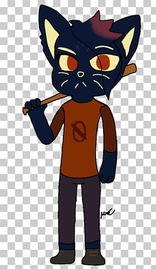 Cat Night In The Woods Fan Art Game PNG