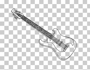Electric Guitar Drawing Painting Coloring Book PNG