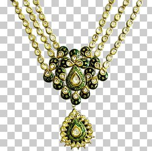 Jewellery Necklace Charms & Pendants Chain Kundan PNG