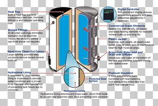 Solar Water Heating Electric Heating Hot Water Storage Tank Solar Power PNG