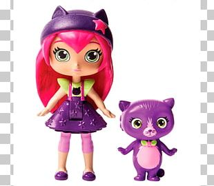 "Toys ""R"" Us Doll Little Charmers Hazel Magic Action & Toy Figures PNG"