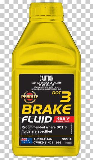 Motor Oil Car DOT 3 Brake Fluid DOT 4 PNG