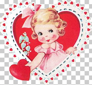Valentine's Day Etsy Heart Vintage Clothing Craft PNG