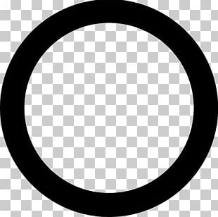 Area Of A Circle Bézier Curve PNG