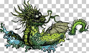 Dragon Illustration PNG