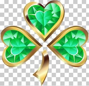 Ireland Shamrock Saint Patrick's Day Clover PNG