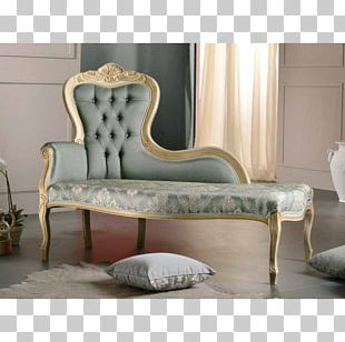 Table Chaise Longue Furniture Couch Chair PNG