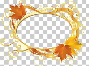 Gold Leaf Maple Leaf Graphic Arts PNG