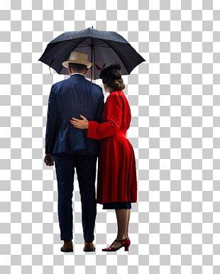 Oil-paper Umbrella Rain Robe PNG