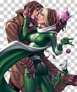Rogue Gambit Professor X Storm X-Men PNG