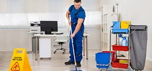 Commercial Cleaning Maid Service Cleaner Janitor PNG