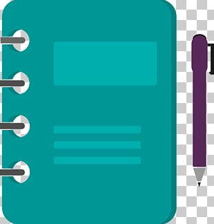 Diary Paper Clip PNG
