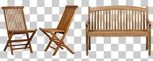 Garden Furniture Chair Teak Furniture Table PNG