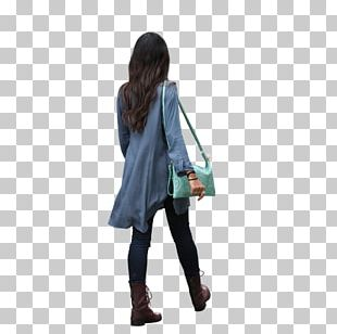 Outerwear Shoulder Jeans Handbag Turquoise PNG
