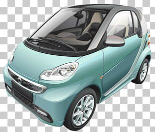 Smart Fortwo City Car Compact Car PNG