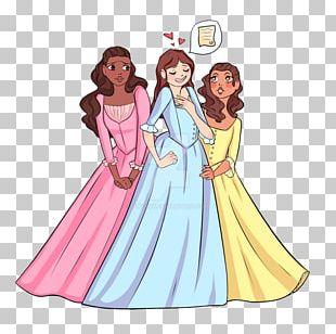 Gown Human Behavior Cartoon Pink M PNG