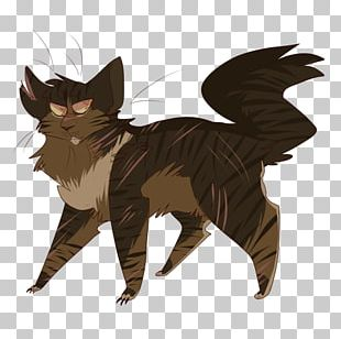 Kitten Whiskers Tabby Cat Tigerstar Warriors PNG